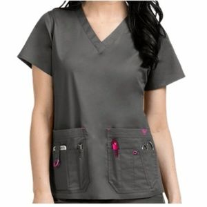 MED COUTURE RESCUE SCRUB TOP